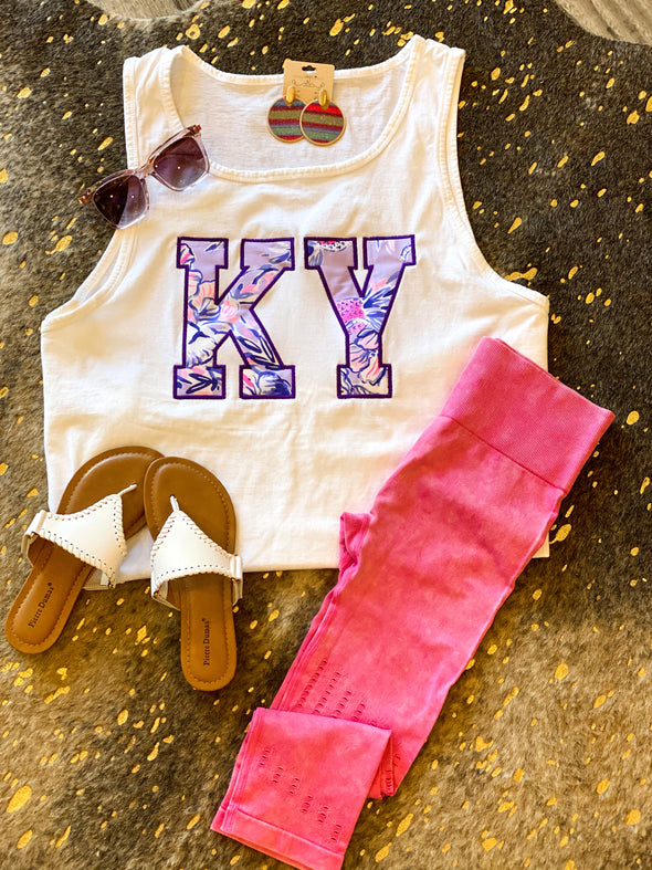 KY Lilly Inspired Tank