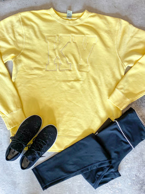 KY Yellow Monochromatic Sweatshirt