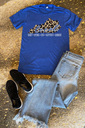 Shop Local Leopard Tee
