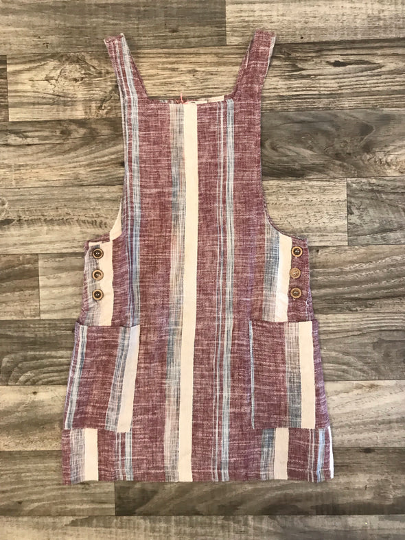 Berry Combo Pocket Dress