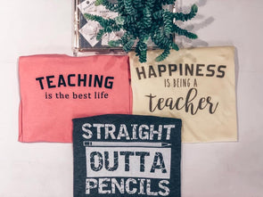 Teaching is the best life tee