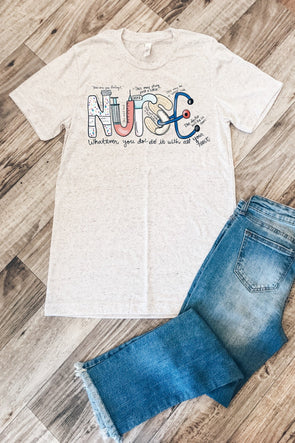 Nurse Drawing Tee