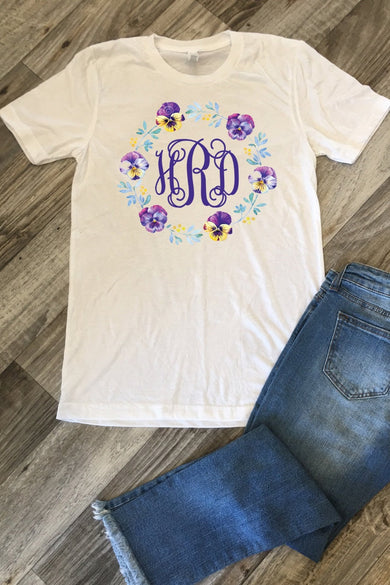 Purple Haze White Tee