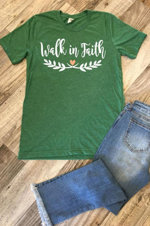 Walk in Faith Tee