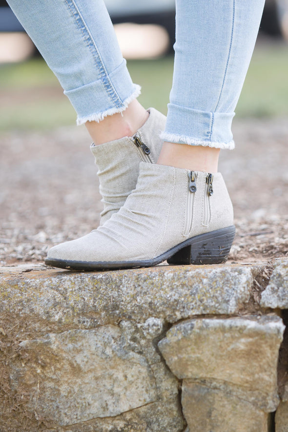Wander Taupe Blowfish Booties