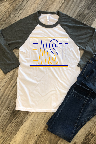 Warren East Raiders Raglan Tee