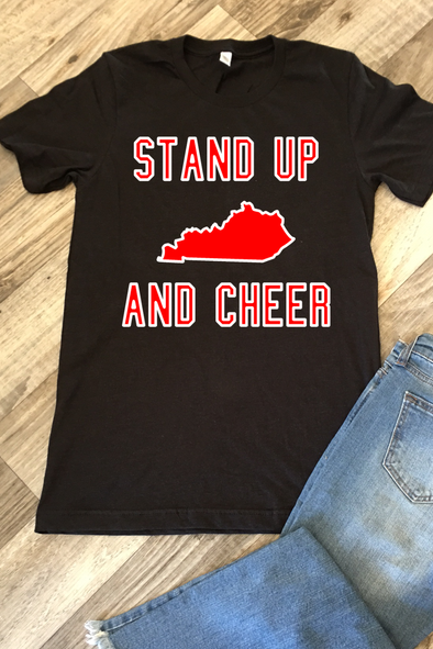 Stand Up And Cheer Tee