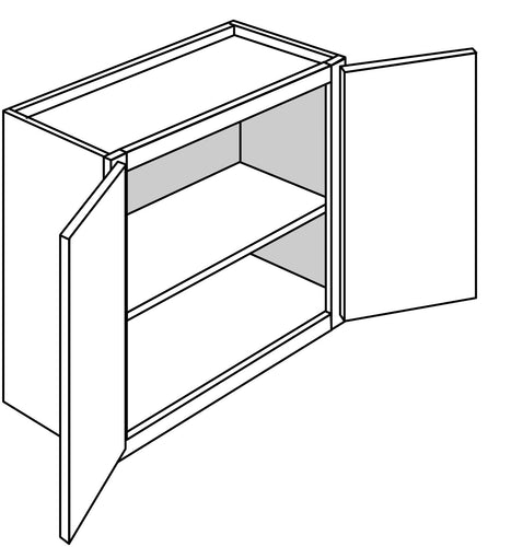 DOVER WALL BRIDGE CABINETS: 24