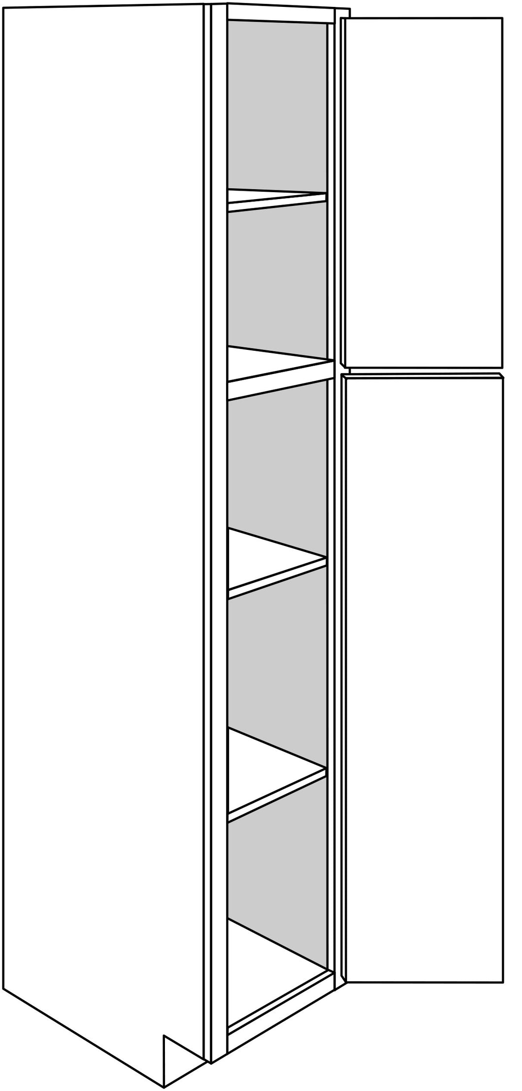 QUINCY TALL CABINETS: 18
