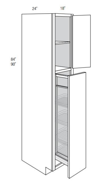 ESSEX TALL CABINETS WITH PULL OUT: 18