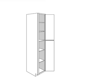 GEORGETOWN TALL PANTRY CABINET 2 DOOR : Width: 18 | Height: 96 | Depth: 24