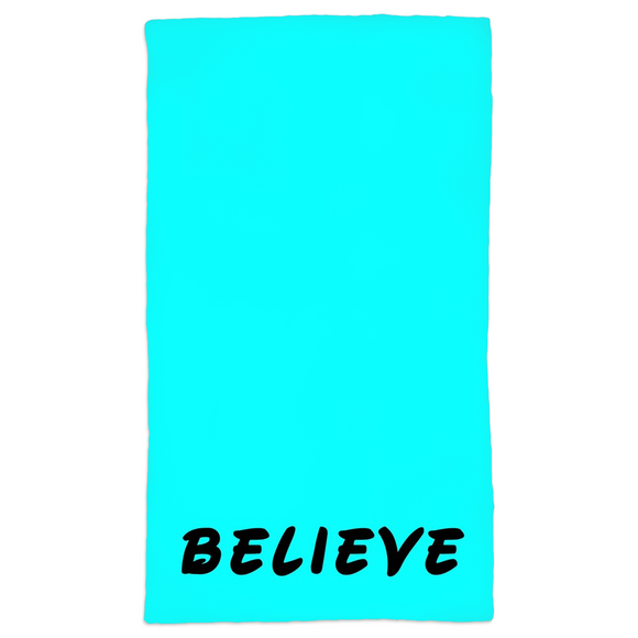 Believe Hand Towels