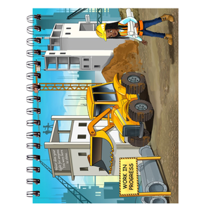 Construction Manager Spiral Notebooks