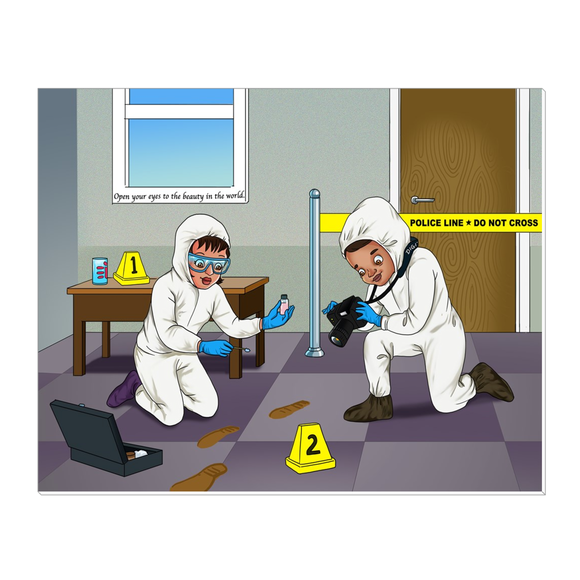Forensic Scientist Canvas Wraps