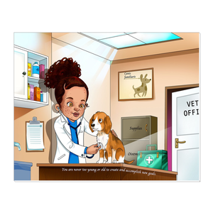 Veterinarian Canvas Wraps