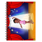 Ballet Dancer Spiral Notebooks