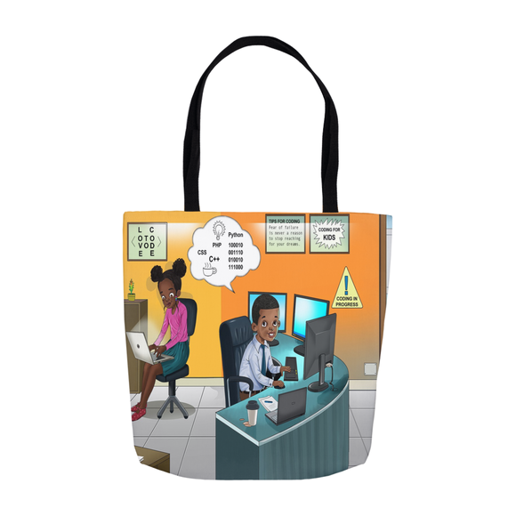 Computer Programmer Tote Bags