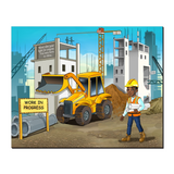 Construction Manager Canvas Wraps