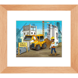 Construction Manager Framed Prints