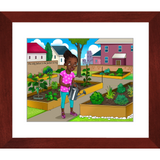 Urban Gardener Framed Prints