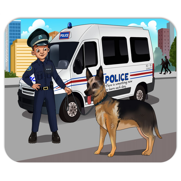 Police Officer Mousepads