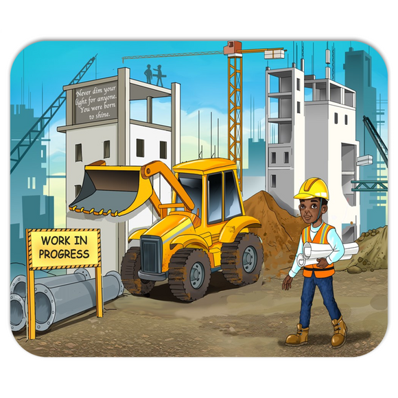 Construction Manager Mousepads
