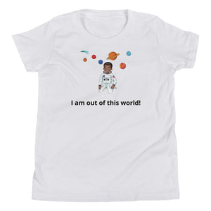 Youth Boy Astronaut Short Sleeve T-Shirt