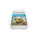 Construction Manager Drawstring Bags