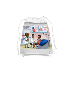 Doctor/Nurse Drawstring Bags