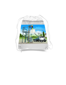 Electrician Drawstring Bags