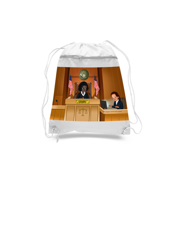 Judge Drawstring Bags