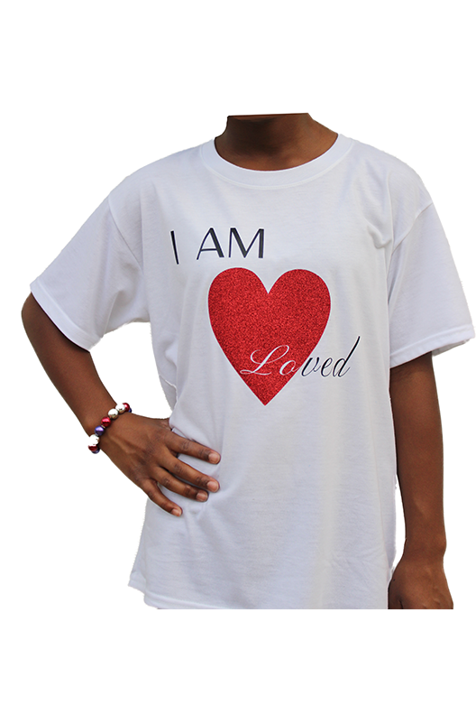 I AM LOVED Short Sleeve T-shirt