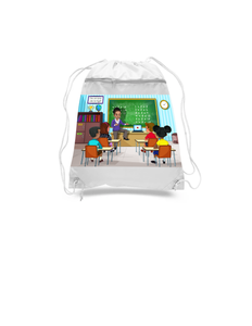 Teacher Drawstring Bags