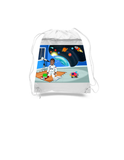 Astronaut Drawstring Bags