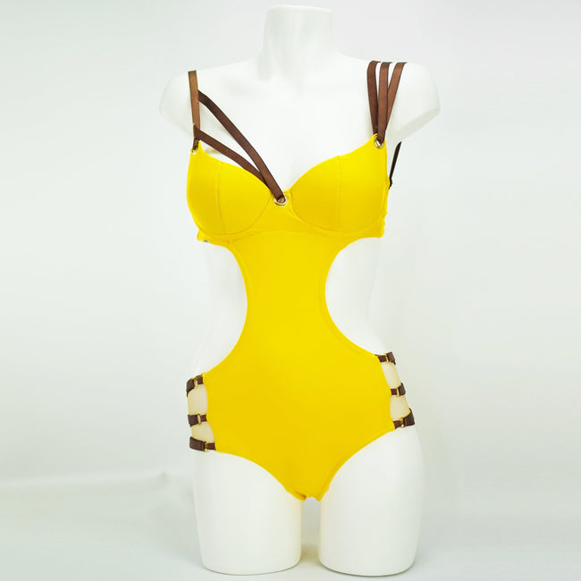 Feisty Monokini One Piece Swimsuit