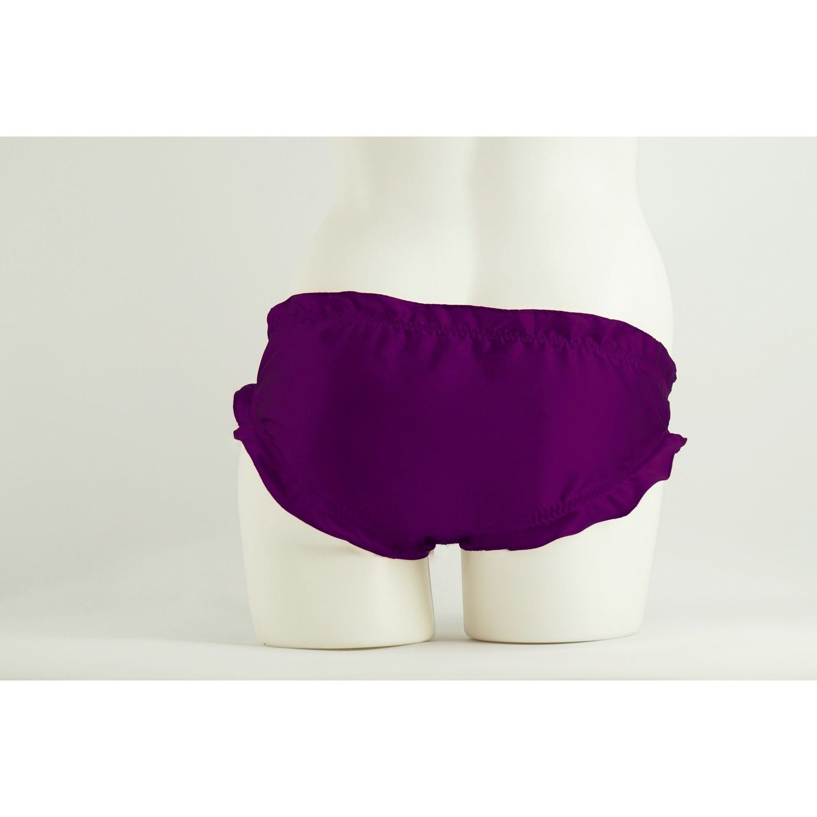 Panties - Bianca Carine Ruffled Bikini Panties In Majesty