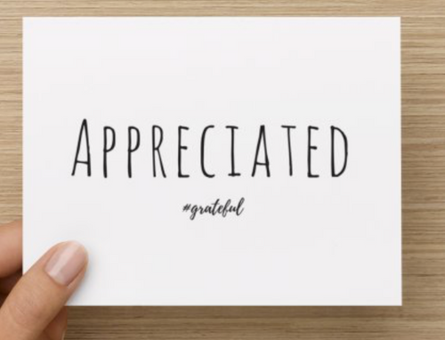 Appreciated Gratitude Cards