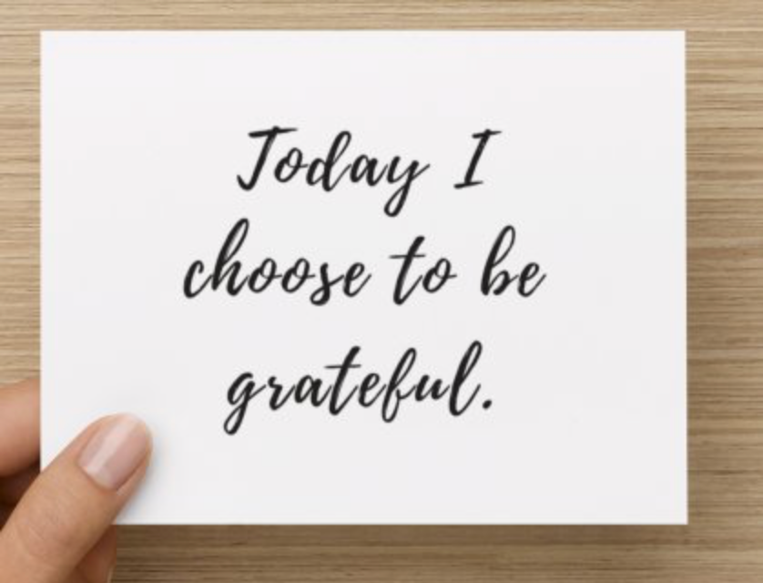 Today I Choose Gratitude Cards