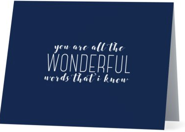 You Are Wonderful Gratitude Cards