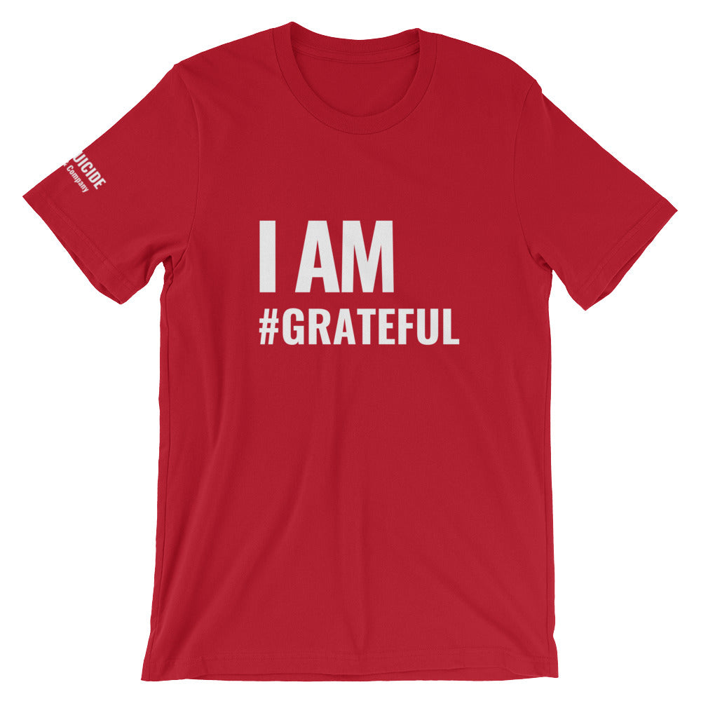 Coog Red #grateful T-shirt