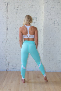 Caribbean Blue Original High-Waist Performance Legging