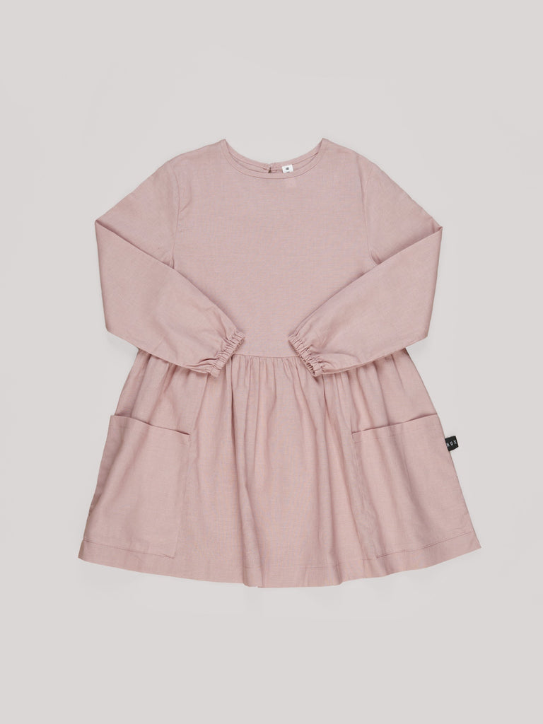 Lil' Berry Linen Dress