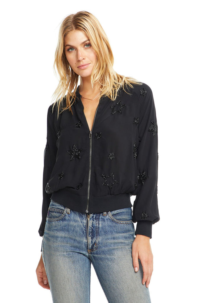 Beaded Star Bomber