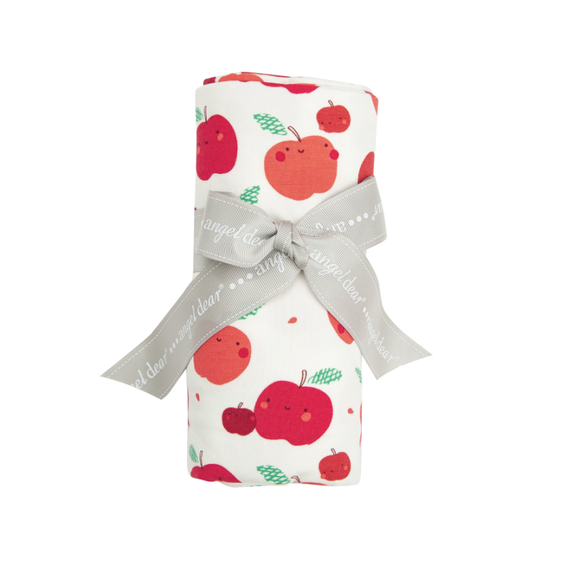 Apple Orchard Swaddle Blanket