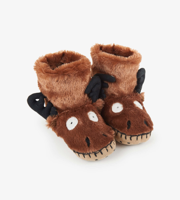 Kids Moose Slippers