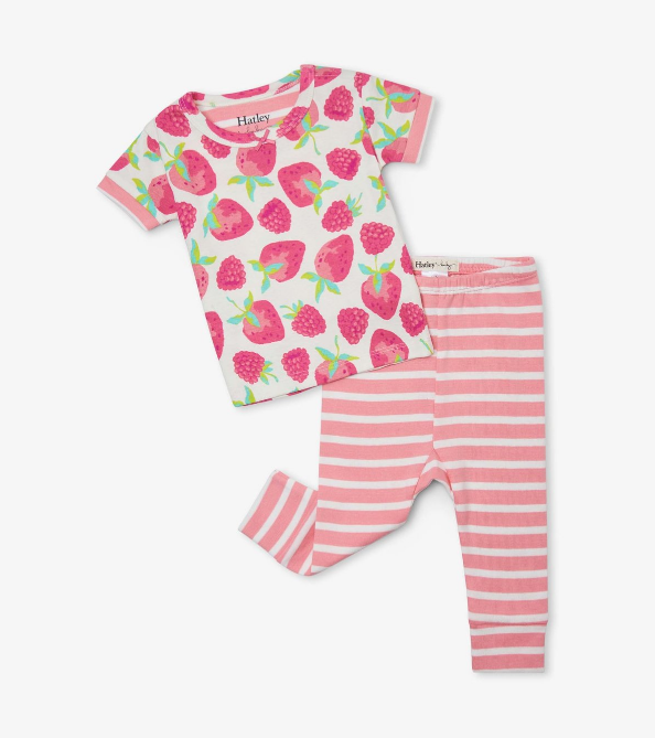 Delicious Berries Baby PJ Set