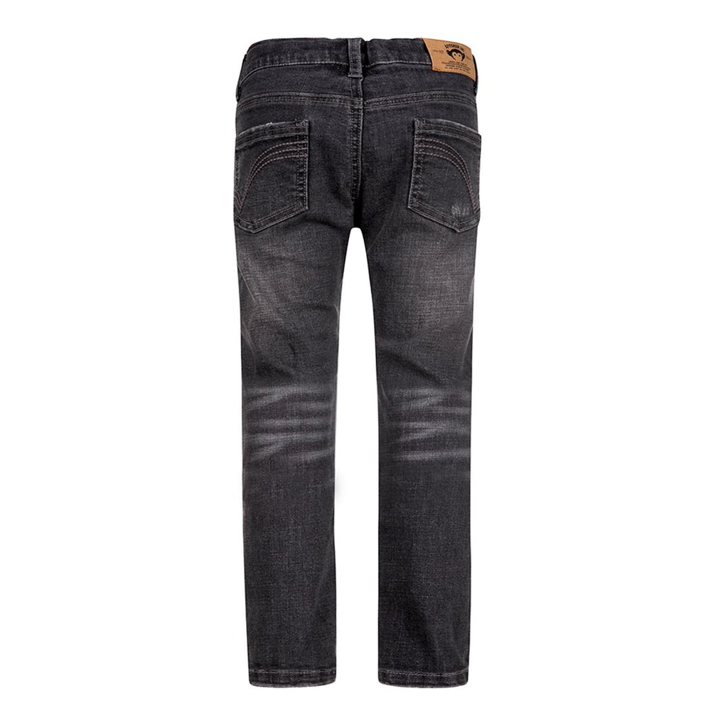 Grey Wash Slim Denim