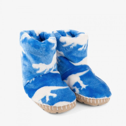Kids Roaming Dino Slippers
