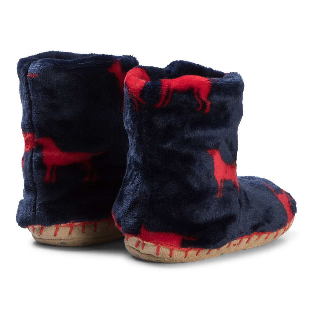 Kids Red Lab Slippers
