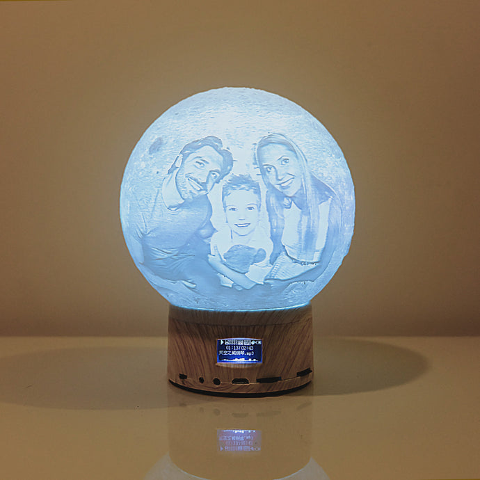 3D Bluetooth Speaker Moon Light